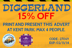 15% off at Diggerland