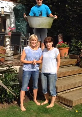 Kent Charity Team attempt the Ice Bucket Challenge