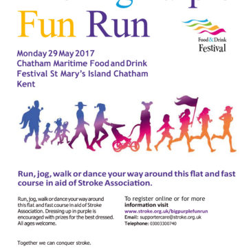 Join the Big Purple Fun Run