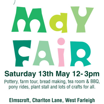 Dandelion Time May Fair – Saturday 13 May