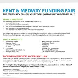 Charities Funding Fair – Kent and Medway Funding Fair