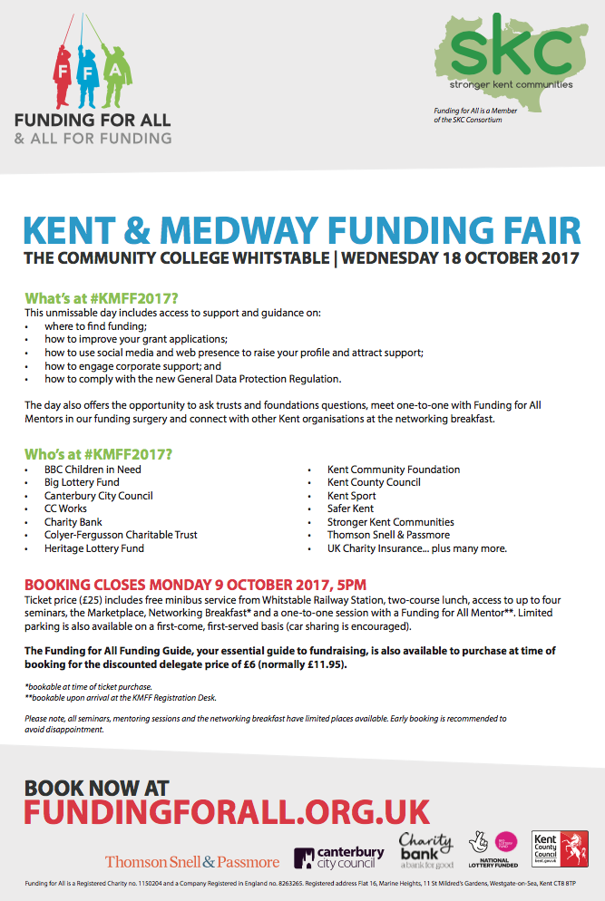 Kent and Medway Funding Fair