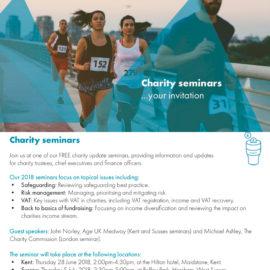 charity seminar
