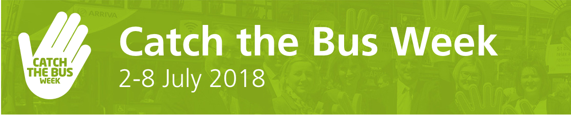 Celebrate 'Catch The Bus Week' and  Nominate a Good Cause for an Arriva Summer Day Out