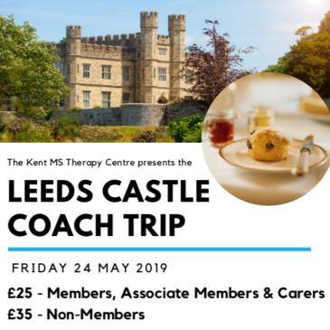 Kent MS Therapy Centre – Leeds Castle Coach Trip