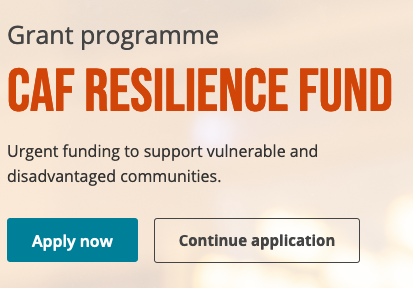 CAF Resilience Fund to support vulnerable and disadvantaged communities