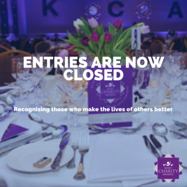 Entries into the 2021 Kent Charity Awards are now closed!