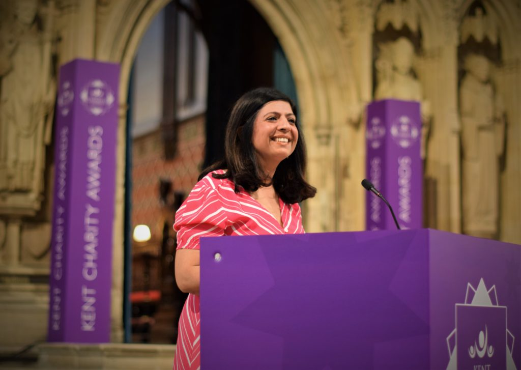 Sangeeta Bhabra at Kent Charity Awards