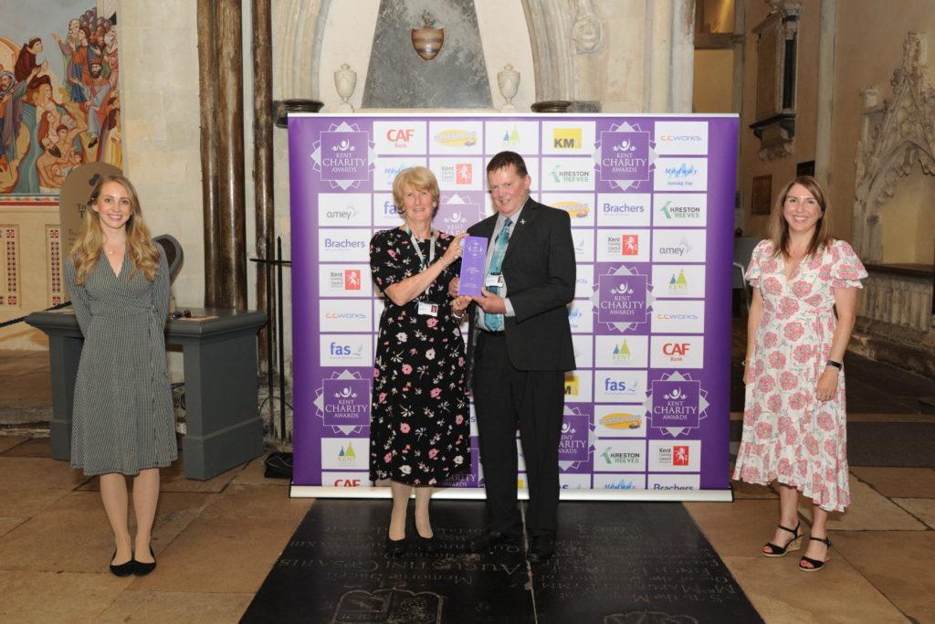 kent charity awards winner 2021